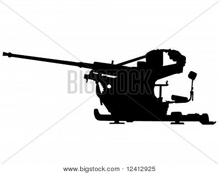 Ww2 - Anti Aircraft Gun