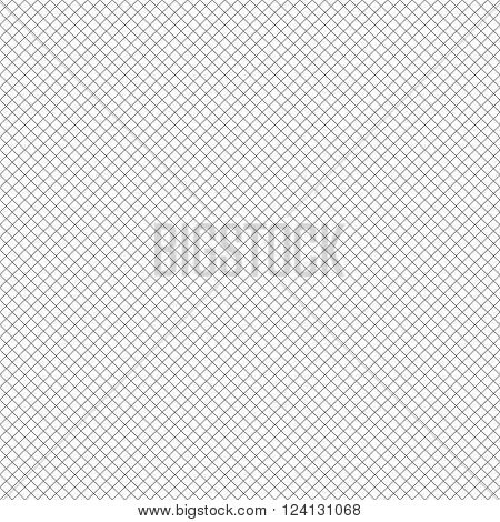 Seamless pattern. Abstract geometric background. Simple elegant texture with thin lines. Regularly repeating geometrical grid. Vector element of graphical design