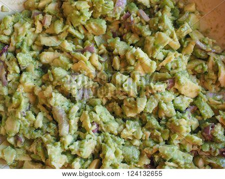 Guacamole Dip Food