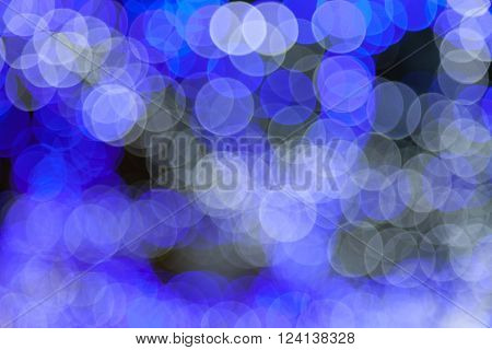 Abstract circular bokeh background of Christmas light., Abstract circular bokeh background.