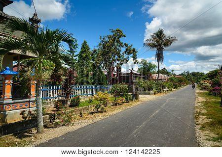 Balinese Village In Tentena