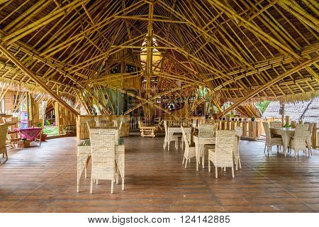 Bamboo House By The Poso Lake