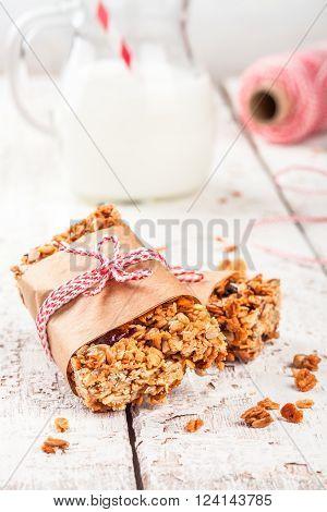 Homemade Protein Granola Bars