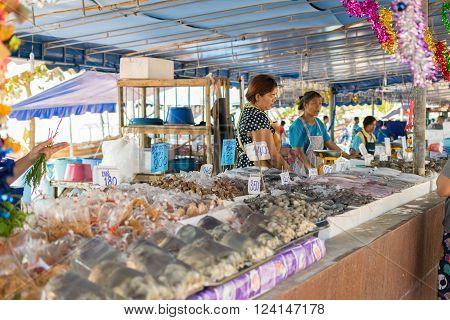 Thai Seafood Market