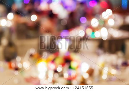 Blur People In Party