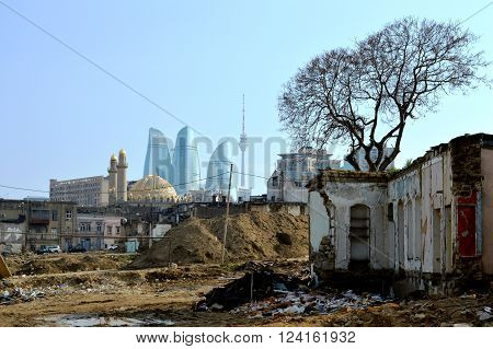 Yesterday and today. East and West.