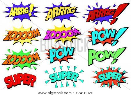comic signs and slogans