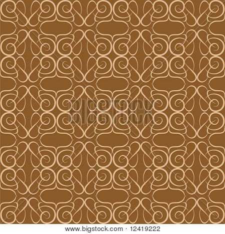 Seamless background Floral Pattern flow