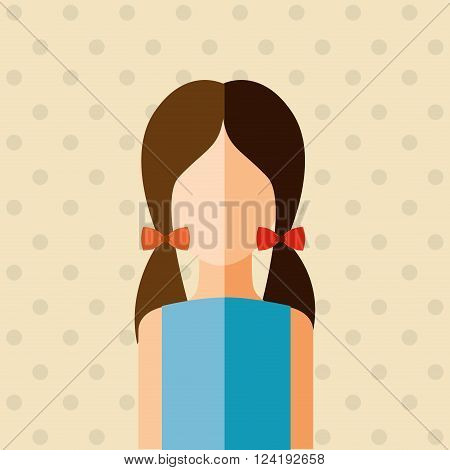avatar person design, vector illustration eps10 graphic