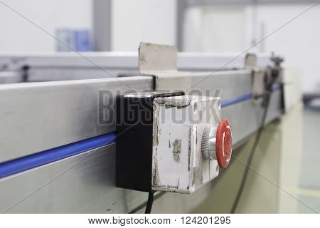 emergency stop button line assembly electrical, design, background,