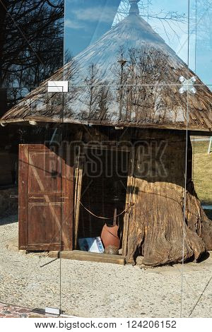 Bijotai, Lithuania: Dionisas Poska Manner in the spring