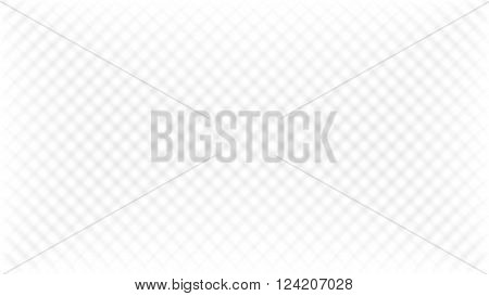 Abstract white background with grey diagonal square mesh effect texture in vector