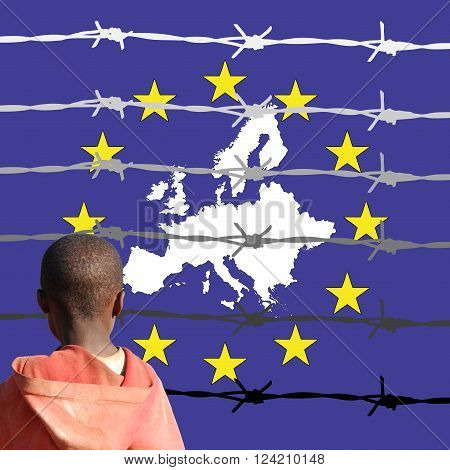 Symbolic illustration depicting the new European ideals