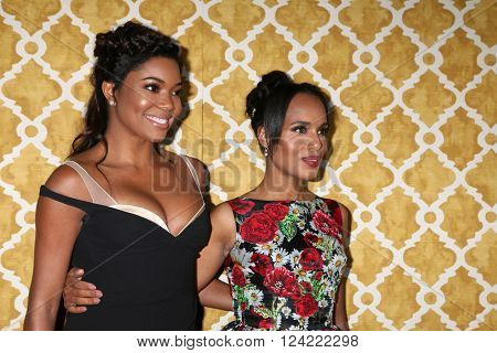 LOS ANGELES - MAR 31:  Gabrielle Union, Kerry Washington at the Confirmation HBO Premiere Screening at the Paramount Studios Theater on March 31, 2016 in Los Angeles, CA