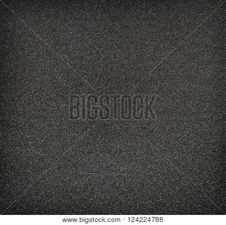Closeup of black non-stick surface for background