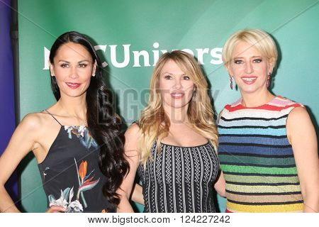 LOS ANGELES - APR 1:  Julianne Wainstein, Ramona Singer, Dorinda Medley at the NBC Universal Summer Press Day 2016 at the Four Seasons Hotel on April 1, 2016 in Westlake Village, CA