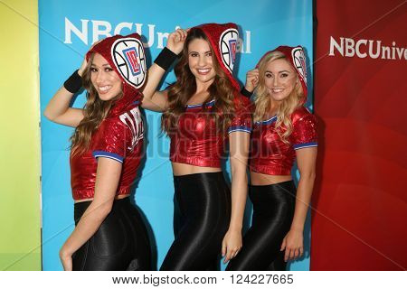 LOS ANGELES - APR 1:  Kellie Janeski, Natalie Tenerelli, Hannah Cormier at the NBC Universal Summer Press Day 2016 at the Four Seasons Hotel on April 1, 2016 in Westlake Village, CA