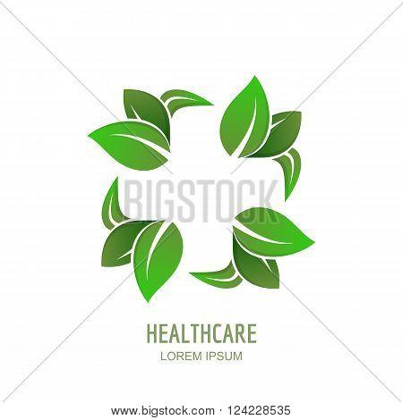 Medical Center Or Pharmacy Vector Logo, Icon, Emblem Design.