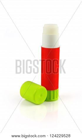 Indian Made Glue stick Isolated on White Background
