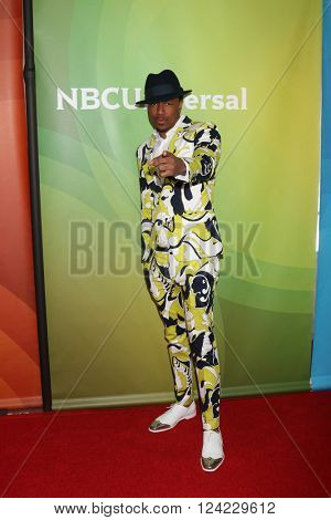 LOS ANGELES - APR 1:  Nick Cannon at the NBC Universal Summer Press Day 2016 at the Four Seasons Hotel on April 1, 2016 in Westlake Village, CA