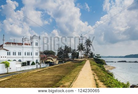Galle fort in Sri Lanka is a prime Dutch colonial time city in Asia. Galle - the largest city and port in the south of Sri Lanka the capital of the southern province and a popular tourist destination