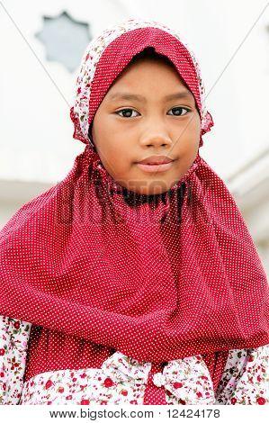 Indonesian Muslim Child
