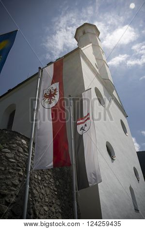 the castle of aschach in tyrol in austria
