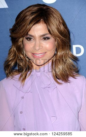 Paula Abdul at the 27th Annual GLAAD Media Awards held at the Beverly Hilton Hotel in Beverly Hills, USA on April 2, 2016.