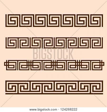 Vector Greek ornament. 10 eps vector illustration