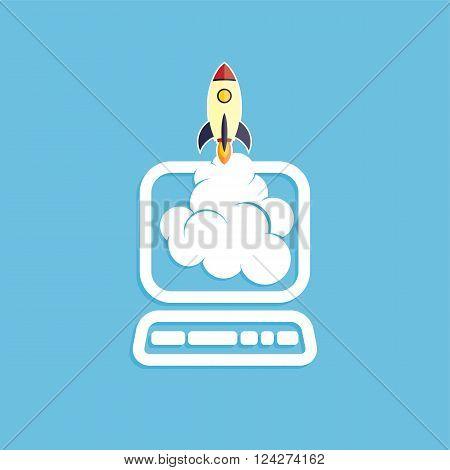 Start Up Program Rocket Computer Boot Program
