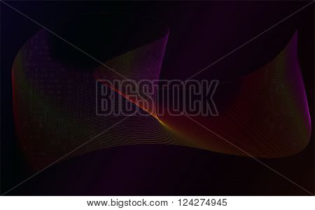 Abstract neon rows abstract laser background abstract neon plasma shape abstract plasma row wave Abstract plasma wave wallpaper background