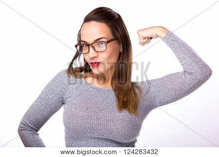 Winner Success Woman