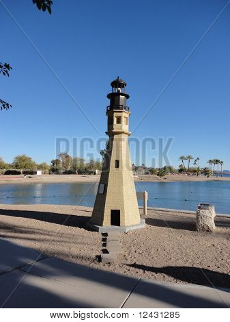 London Bridge Park Lighthouse