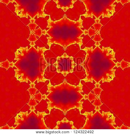 Kaleidoscopic seamless generated texture, abstract texture or background
