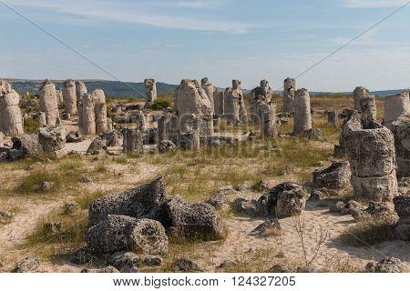 The Stone Desert (Pobiti kamani) near Varna Bulgaria