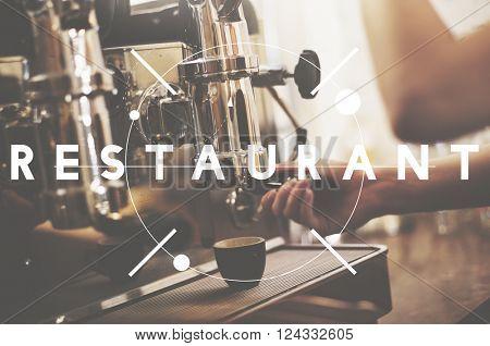 Restaurant Cafe Bistro Cooking Kitchen Concept