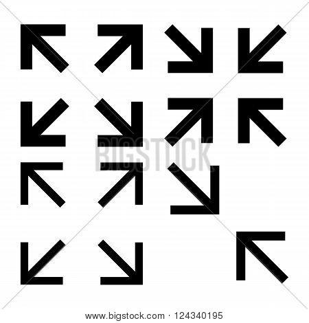Fullscreen Icon - vector illustration - isolated