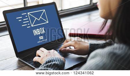 E-mail Correspondence Envelope Message Inbox Concept