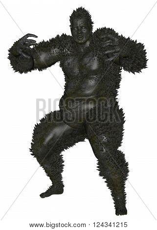 3D Rendered Monster