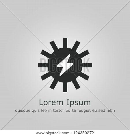 Solar Energy Icon In Vector Format. Premium Quality Solar Energy Icon. Web Graphic Solar Energy Icon