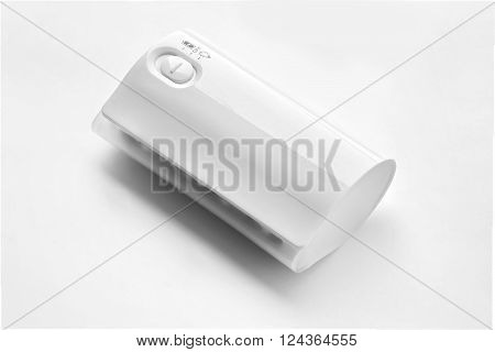 Mobile phone powerbank Isolated on white background