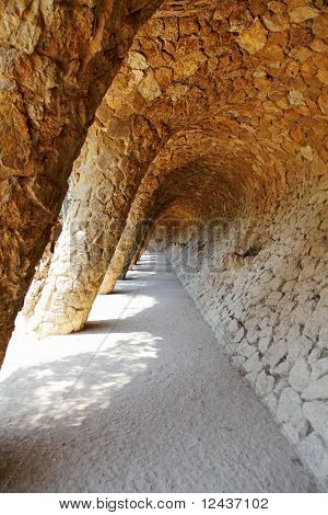 Detail Of Park Guell