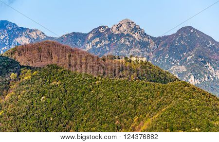 Lattari Mountains on Amalfi Coast in Campania - Italy