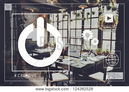 Start up Home Office Creativity Start up Concept
