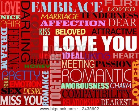 Various Love Words