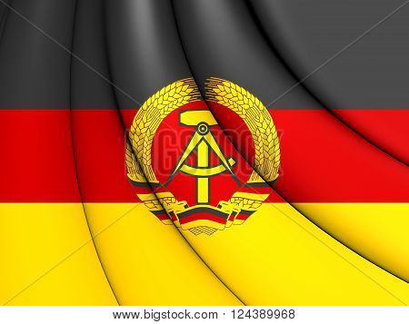 Flag Of German Democratic Republic