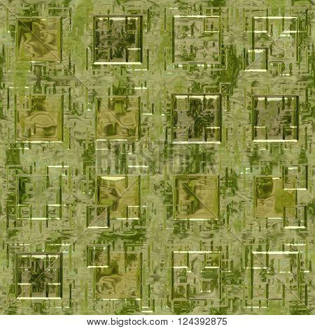 Golden metallic wall texture - abstract background