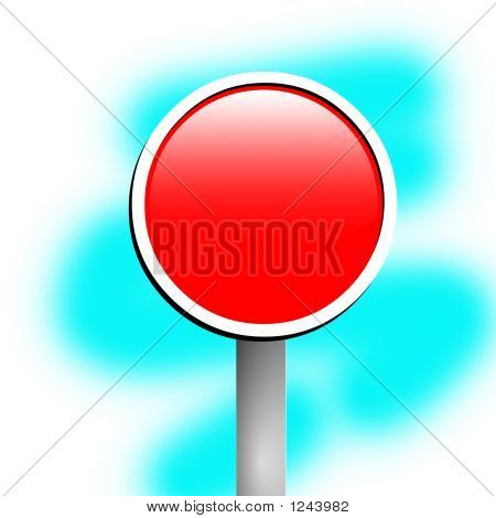 Blank Sign Frame