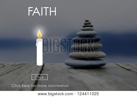 Faith Hope Ideology Loyalty Religion Belief Believe Concept