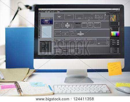 Edit Software Templates Design Graphics Concept